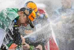 Wayne Taylor Racing celebrates on the podium