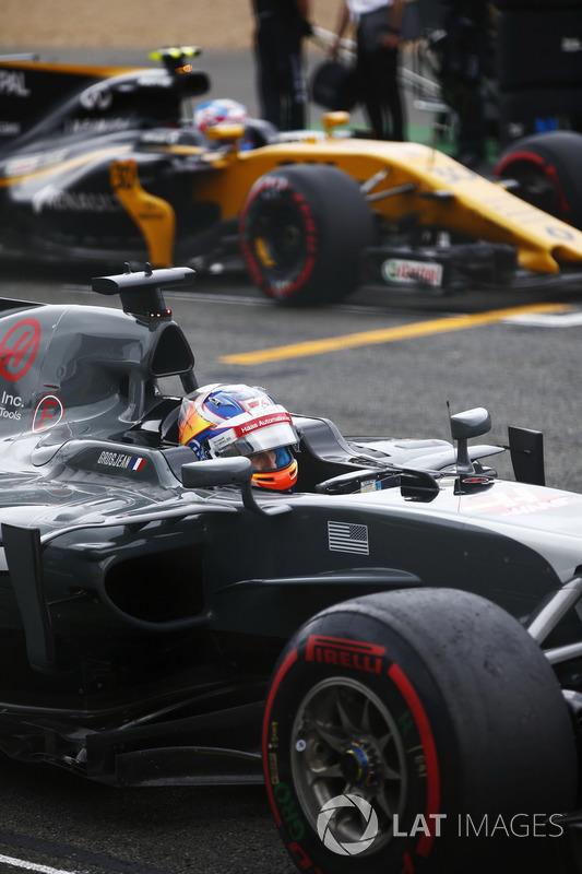 Ромен Грожан, Haas F1 Team, Джоліон Палмер, Renault Sport F1 Team