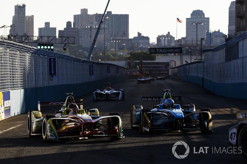 Daniel Abt, ABT Schaeffler Audi Sport, e Nicolas Prost, Renault e.Dams