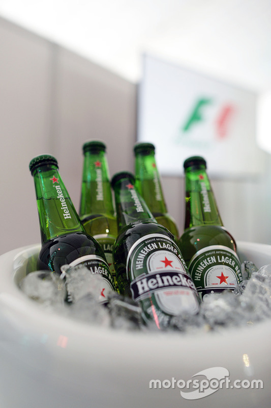 Heineken anounces a sponsorship deal with F1