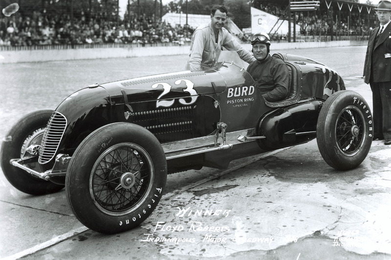 Le vainqueur Floyd Roberts, Wetteroth