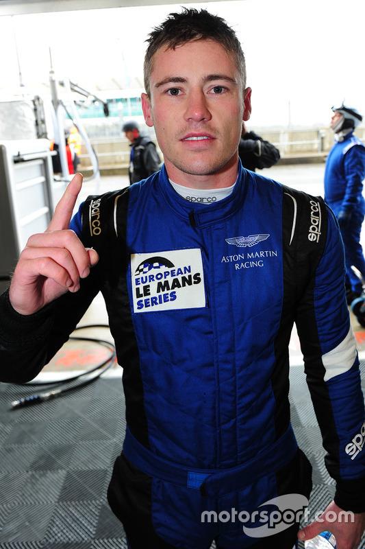 GTE polesitter Richie Stanaway, Aston Martin Racing