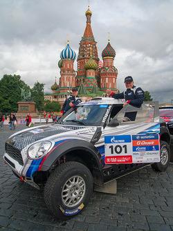 Владимир Васильев, Константин Жильцов, G-Energy Team, MINI