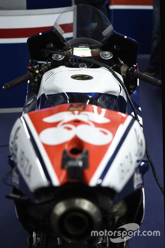 La moto de Mike Jones, Avintia Racing