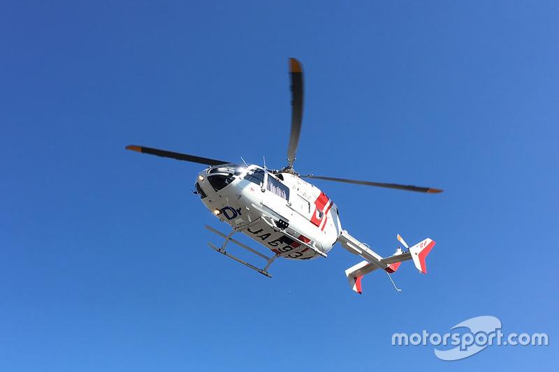 نقل خورخي لورينزو، ياماها فاكتوري ريسينغ إلى المستشفى