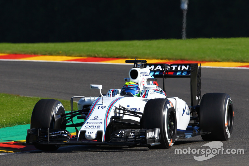 10. Felipe Massa, Williams FW38
