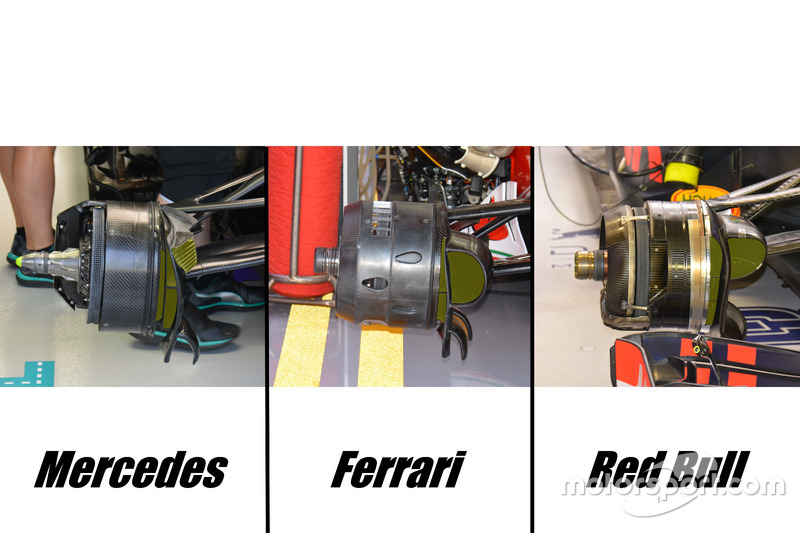 Brake duct comparison