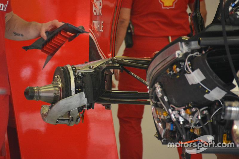 Heck obere Aufhängung, Ferrari SF16-H