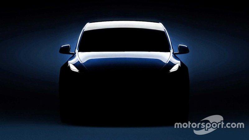 Tesla Model Y - тізер