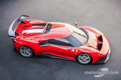 Presentación Ferrari P80/C