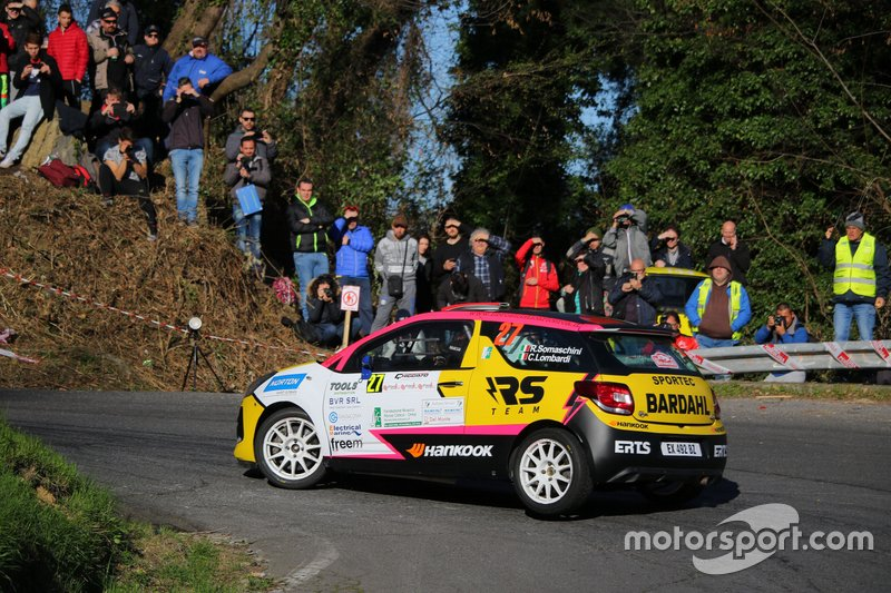 Rachele Somaschini, Chiara Lombardi, Citroen DS3 #27, RS Team
