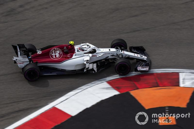 7. Charles Leclerc, Sauber C37