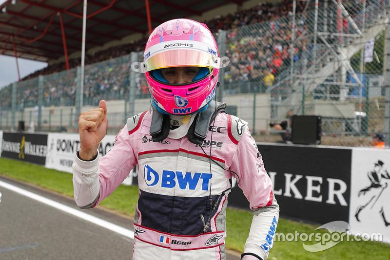 Le troisième Esteban Ocon, Racing Point Force India