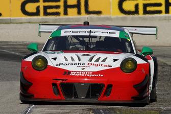 #58 Wright Motorsports Porsche 911 GT3 R, GTD - Patrick Long, Christina Nielsen