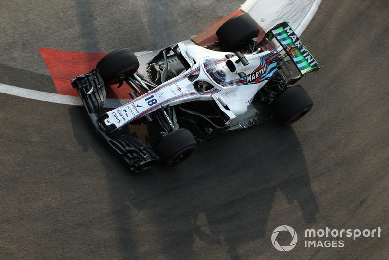 14. Lance Stroll, Williams FW41