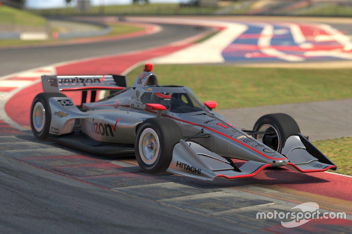 Indycar iRacing Challenge: этап 5