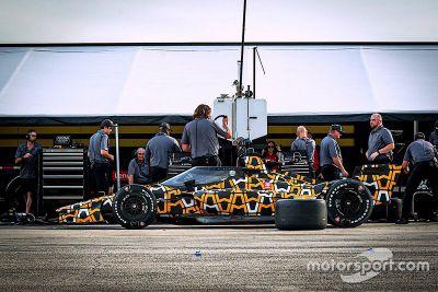 Arrow McLaren SP Sebring testing