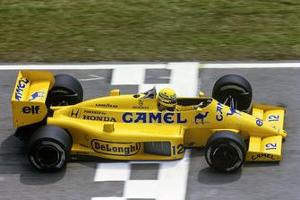 Ayrton Senna, Lotus 99T