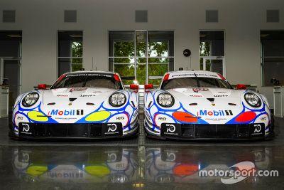 Porsche Team livery unveil