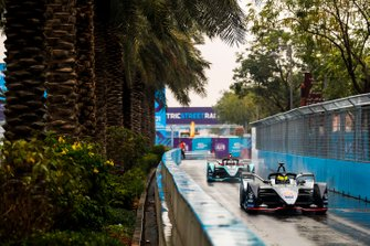 Oliver Rowland, Nissan e.Dams, Nissan IMO1, Mitch Evans, Panasonic Jaguar Racing, Jaguar I-Type 3