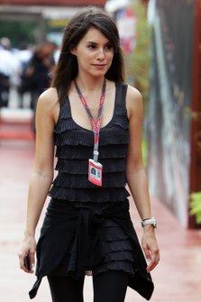 Marion Jolles, novia de Romain Grosjean