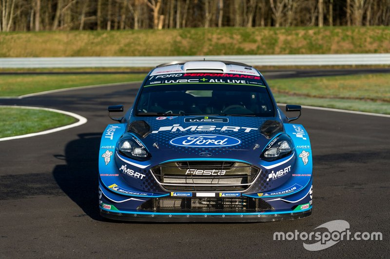 La nuova livrea M-Sport Ford