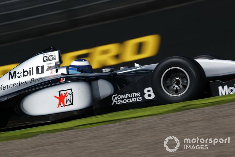 Mika Hakkinen, McLaren MP4-13 Leyendas F1 30 aniversario