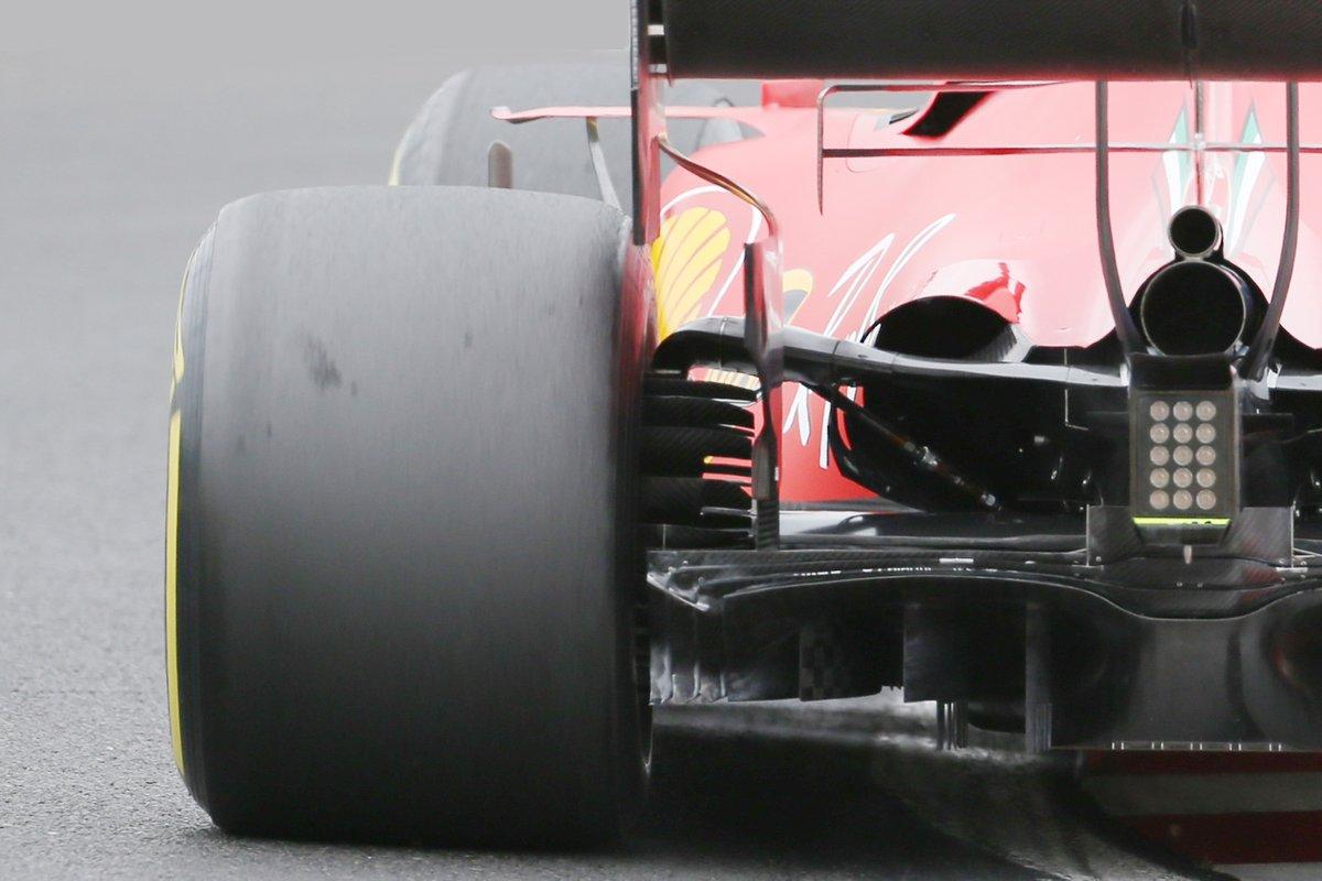 Il posteriore della Ferrari SF1000: al Ring ci saranno nuove regolazioni della sospensione dietro