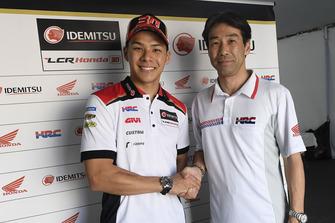 Takaaki Nakagami, LCR Honda, Tetsuhiro Kuwata, HRC Director
