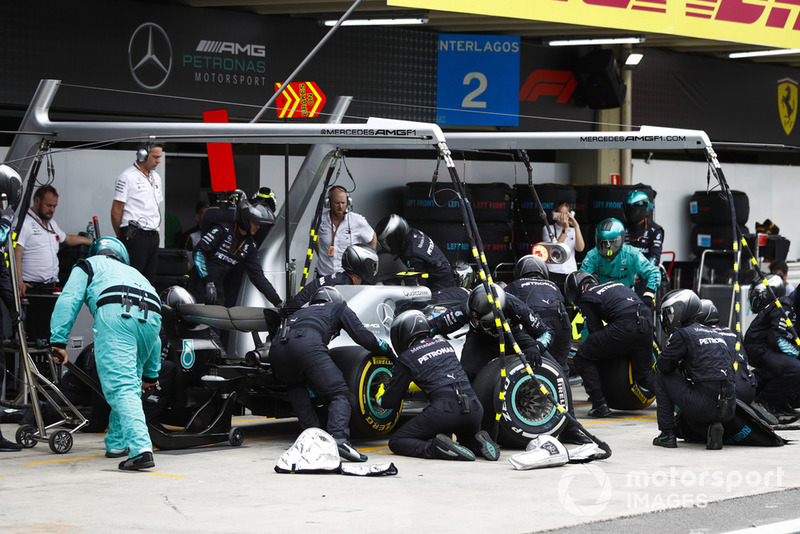 4º Mercedes con Valtteri Bottas: 2,43 segundos