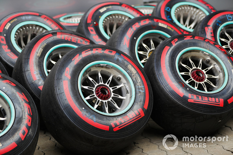 Mercedes supply of Supersoft tyres