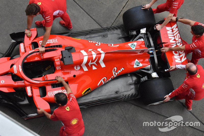 Das neue Ferrari-Design in Suzuka