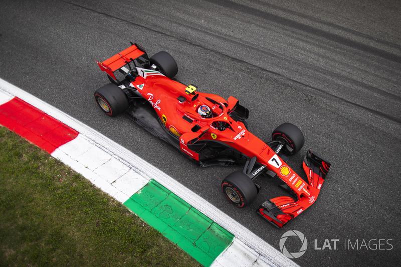 Italy: Kimi Raikkonen