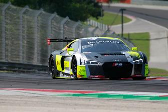 #17 Team WRT Audi R8 LMS: Stuart Leonard, Robin Frijns Patrick