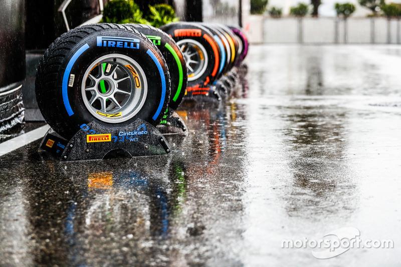Ban Pirelli di paddock