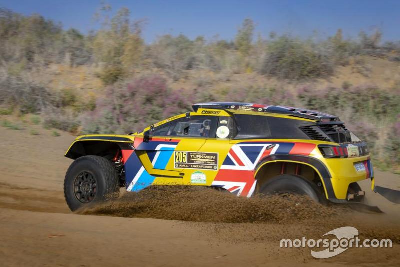 Harrry Hunt, Peugeot 3008 DKR Maxi