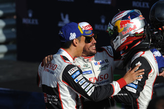 Vainqueur : 8 Toyota Gazoo Racing Toyota TS050: Sebastien Buemi, Kazuki Nakajima, Fernando Alonso