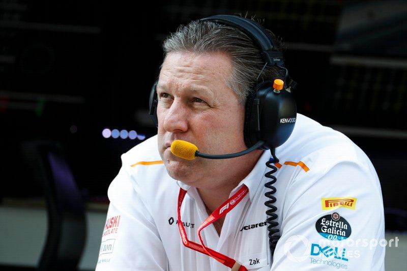 Zak Brown, directeur exécutif, McLaren