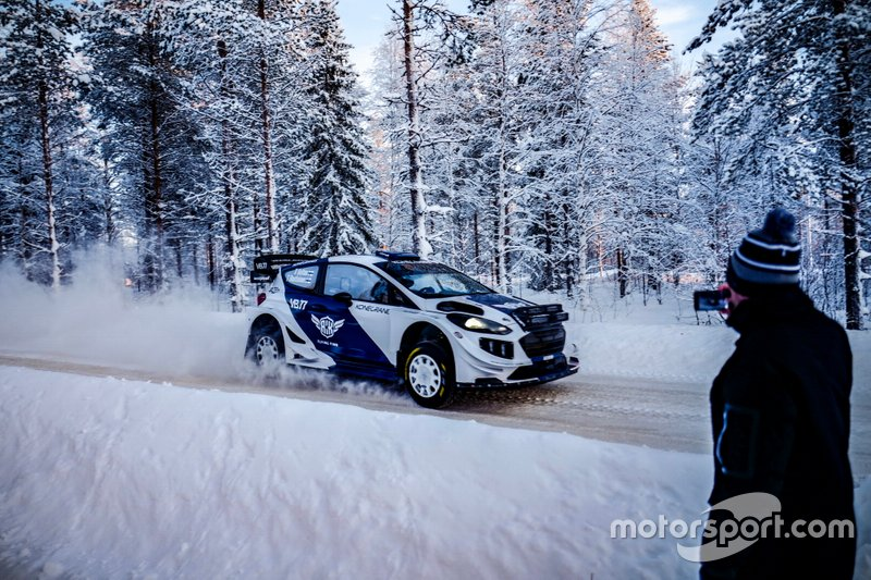 Valtteri Bottas, Timo Rautiainen, M-Sport Ford Fiesta