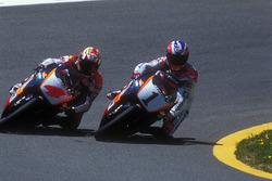 Mick Doohan, Repsol Honda; Alex Criville, Repsol Honda