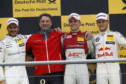Podium: 1. Jamie Green, Audi Sport Team Rosberg, Audi RS 5 DTM; 2. Gary Paffett Mercedes-AMG Team HW