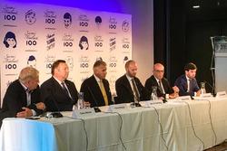 Пресс-конференция: Тимо Похьола, Кари О. Солберг, Сампо Терхо и Кармело Эспелета