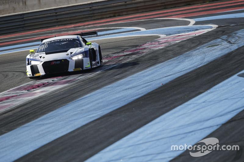 #26 Sainteloc Racing, Audi R8 LMS: Christian Kelders, Christopher Hasse, Gregory Guilvert