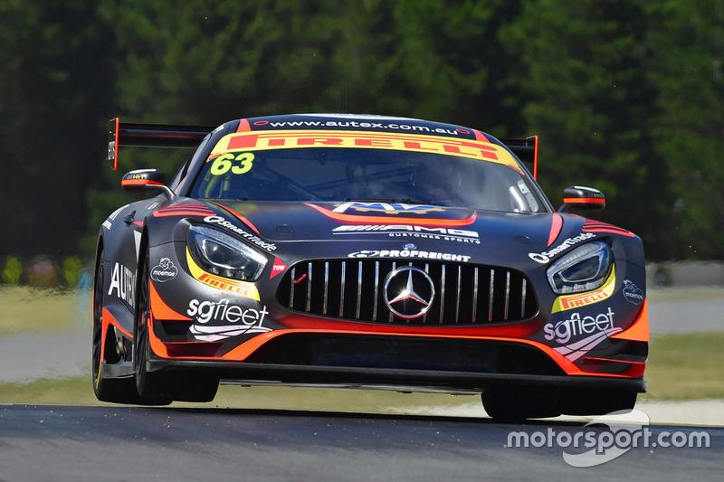 #63 Eggleston Motorsport, Mercedes-AMG GT3: Peter Hackett, Dominic Storey