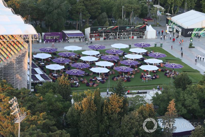 Atmosphäre in Baku