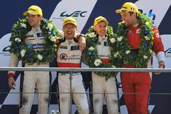 LMP2 podium: troisième place pour David Cheng, Alex Brundle, Tristan Gommendy, DC Racing