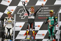 Podium: 1. Dominique Aegerter, Kiefer Racing; 2. Thomas Luthi, CarXpert Interwetten; 3. Hafizh Syahrin, Petronas Raceline Malaysia