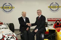 Martin Birrane with Eric Broadley