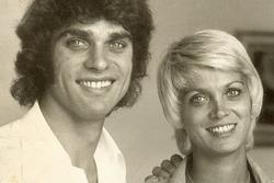 François Cevert et sa soeur Jacqueline qui a épousé le pilote Jean-Pierre Beltoise