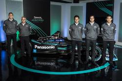 James Barclay, Team Director, Jaguar Racing, Gerd Mäuser, Presidente, Panasonic Jaguar Racing, Mitch